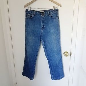 Lee relexed straight leg at the waist jeans 12
